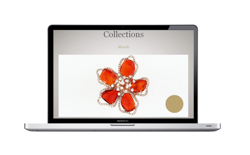 NIGAAM珠宝品牌网站设计
