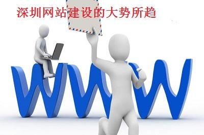 深圳网站建设的大势所趋