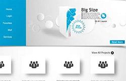 网页设计原型图