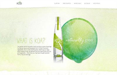 设计趋势:在网页设计中使用水彩图案